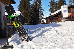Snowboard (Martyn.Hayes) Tags: winter wintersports snowboard snowboarding slope house bar cabin hills zakopane poland