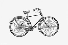 Bicycle in vintage style (Free Public Domain Illustrations by rawpixel) Tags: 19th monograph aged antique bicycle big bike blackandwhite cc0 century classic creativecommons0 cycle design drawing elegance elegant engraving equipment etching high historical history illustration isolated large machine machinery monographic name nostalgia old pedal publicdomain retro ride robinson seat sketch sonpike speed style tire tour traditional transport transportation travel vehicle vintage wheel whitebackground