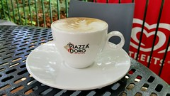 Piazza Doro espresso (Gillian Everett) Tags: coffee noosa leisure centre queensland
