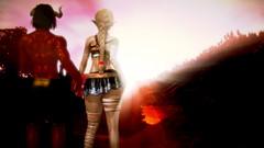 Vestalina & Rad Man (Lennik232) Tags: linachan lennik poser cute kawaii fantasy elves longears pose vestalina 3d 3dart 3dfantasy
