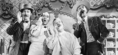barbershop quartet (barbershop_lead) Tags: barbershop bowtie boater hat quartet mustache