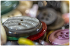 Buttons (scottnj) Tags: 365the2019edition 3652019 day37365 06feb19 button buttons craft crafts collection colorful scottnj 365project scottodonnellphotography macro