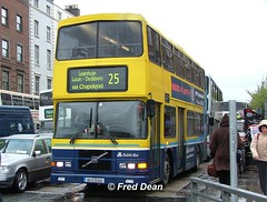 Dublin Bus RV392 (98D20392). (Fred Dean Jnr) Tags: april2005 dublin dublinbus busathacliath dublinbusyellowbluelivery volvo olympian alexander r rv392 98d20392 westmorelandstreetdublin dublinbusroute25 r62lhk croad