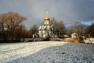 First snow. Feodorovsky   Cathedral.