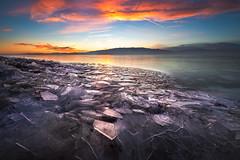 Icy Lake Sunset2 (1 of 1) (Jami Bollschweiler Photography) Tags: icy lake sunset utah photography landscape