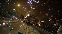 Ionized Storm (nicksoptima) Tags: everspace ps4 screenshot scifi space spaceship