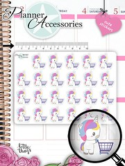Shopping Stickers Shopping Planner Stickers Kawaii Unicorn Stickers Planner Stickers Kawaii Stickers Erin Condren Functional Stickers NR1567 by EmelysPlannerShop (emelysplannershop.com) Tags: planner stickers icon accessories functional daily agenda organizer live emelysplannershop