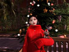 Merry Christmas (sayhtt) Tags: christmas catwa catya pumec coco tree brunette red maitreya sintilika