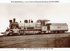 India Railways - Gwalior Light Railway  - GLR 4-6-2 steam locomotive Nr. 36 (Bagnall Locomotive Works E2453) (HISTORICAL RAILWAY IMAGES) Tags: bagnall steam locomotive train railways india gwalior 462