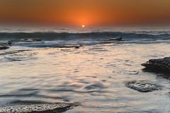 Sunrise Seascape (Merrillie) Tags: daybreak clearskies nature australia sky centralcoast newsouthwales rocks toowoonbay nsw morning beach ocean sea earlymorning waterscape coastal landscape outdoors seascape sunrise coast water dawn
