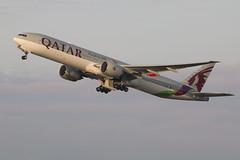 Boeing 777 A7-BAX Qatar Airways (Jarco Hage) Tags: schiphol amsterdam airport ams netherlands eham nederland byjarcohage aviation luchthaven airplane vliegveld vliegtuig vliegtuigen boeing 777 a7bax qatar airways fifa