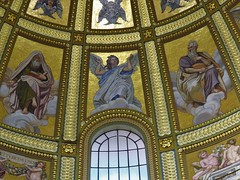 St. Stephen's Basilica (Normann) Tags: hungary budapest basilica church ceiling angel
