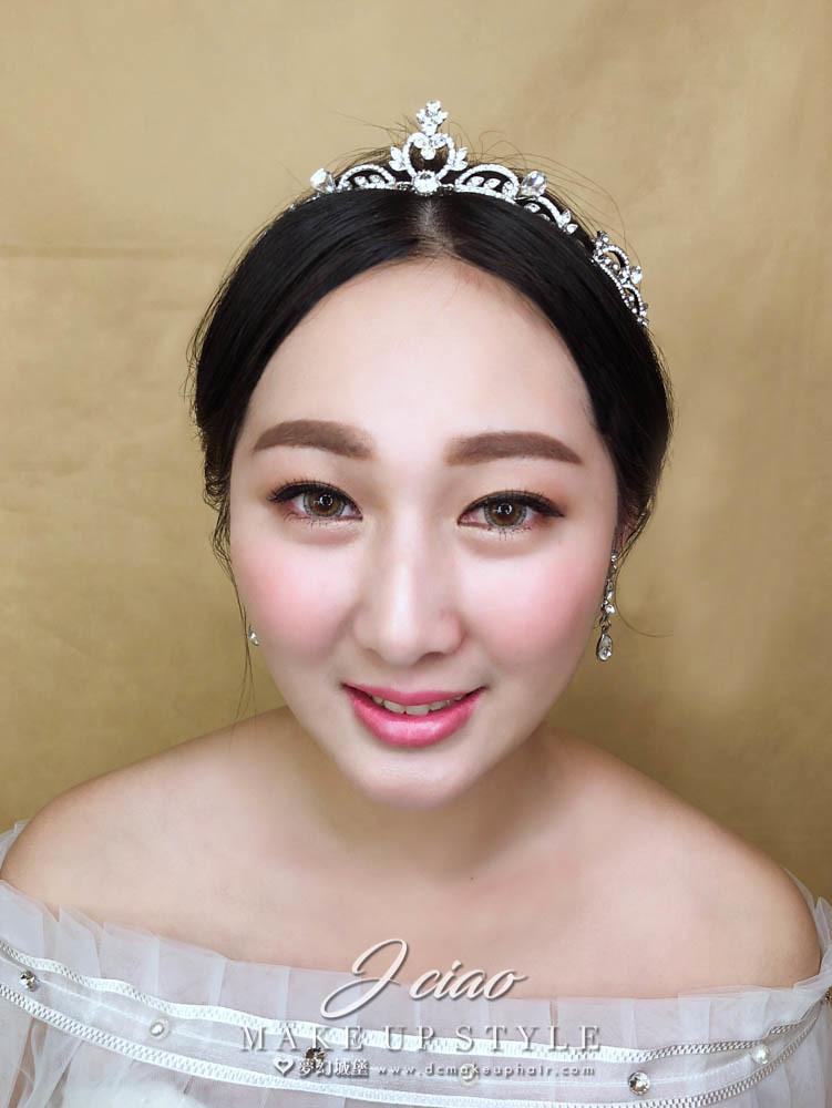 【新秘婕喬】新娘造型創作 / 韓系簡約造型