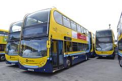Dublin Bus EV75 08-D-30075 - EV10 07-D-30010 - EV11 07-D-30011 (Will Swain) Tags: dublin clontarf depot 16th june 2018 bus buses transport travel uk britain vehicle vehicles county country ireland irish city centre south southern capital ev75 08d30075 ev10 07d30010 ev11 07d30011 ev 11 10 75