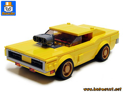 Dodge Charger 75893 Redux (baronsat) Tags: lego custom moc model build building instructions on order demand shop baronsat minifigures minifigs movie vehicles dodge charger 1970 muscle car 2doors sports powerful engine v8 supercar hot roder american motors
