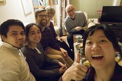 Suksessterte (roboppy) Tags: os softeland arneandaslaugsplace baking cake selfie robyn carl jessa kare arne aslaug