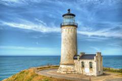 North Head Lighthouse, Washington (aldenjack) Tags: maritimes sea washingtoncoast coast ocean washington northhead lighthouse