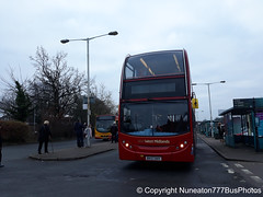 BV57XHY 4734 National Express West Midlands in Lichfield (Nuneaton777 Bus Photos) Tags: national express west midlands adl enviro 400 bv57xhy 4734 lichfield