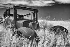ND infrared (ir guy) Tags: ir infrared infraredphotography oldcar abandon vintage irvisionscom jeremyholmes jeremyholmesphotographycom nd northdakota dakotas blackandwhite 2018 canon