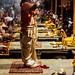 Men Dancing Aarti, Varanasi India