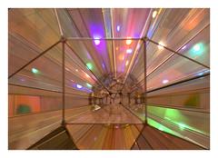 Olafur Eliasson's Colour square sphere  in Malaga's CAC (AurelioZen) Tags: europe spain andalucia málaga cac coloursquaresphere olafureliasson limiteddof artinstallation centrodeartecontemporánemalaga