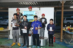 20181104_NTCCC_Podium_026 (htskg) Tags: 2018 20181104 challengecup round6 challengecupround6 karting race podium 新東京サーキット チャレンジカップ 表彰式