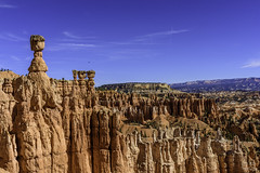 Thor's Hammer, on the Navajo Loop Trail in Bryce Canyon National Park, Utah (ttchao) Tags: brycecanyonnationalpark utah nikon d810 2470mm thorshammer navajolooptrail ngc