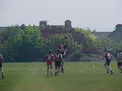 Midland Tigers First Game v Demons 2001 (Australian Embassy Ireland) Tags: afl football aussie rules