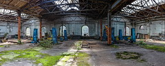 Bahnreparaturwerkstatt (wernkro) Tags: bahnreparaturwerkstatt bahn werkstatt krokor polen panorama lostplace
