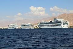 Jordan Aqaba (rolfij) Tags: jordan aqaba redsea cruiseship
