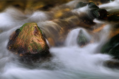 Over the Rocks (arbyreed) Tags: arbyreed water stream river creek swiftcreek blur motionblur slowshutterspeed lincolncountywyoming