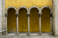 Arcades (Pálacio da Pena, Sintra) (Tormod Dalen) Tags: portugal sintra palacio pena travel palaciopena tamronsp1024 tamron