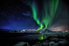 Lady Aurora the Green Dragon (steinliland) Tags: auroraborealis northernlights polar space van allen magnetic ionosphere solar