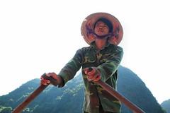 Ha Long Bay Boatman (pallab seth) Tags: people portrait boatman hạlongbay vịnhhạlong vietnam việtnam quangninh towerkarst limestonepillars islands islets marine nature landscape scenic tour travel boat