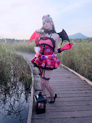 Shooting Love Live Little Devil - Eyaël - La Garde -2018-10-18- P1322450 (styeb) Tags: shoot shooting lagarde 2018 octobre 18 lovelive littledevil xml retouche modeleyael