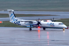 G-ECOB FlyBE Bombardier Dash 8 Q400 Birmingham Airport (Vanquish-Photography) Tags: gecob flybe bombardier dash 8 q400 birmingham airport egbb bhx birminghamairport birminghamelmdonairport vanquish photography vanquishphotography ryan taylor ryantaylor aviation railway canon eos 7d 6d 80d aeroplane train spotting