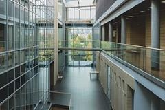 Perspective (Tom Levold (www.levold.de/photosphere)) Tags: fuji poznan xt2 architektur technischeuniversität technicaluniversity architecture glass glas