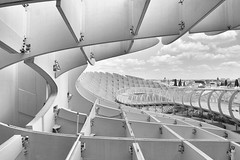 Metrosol Parasol (jantoniojess) Tags: sevilla metrosolparasol setassevilla andalucía españa spain architecture arquitectura perspectiva perspective estructuras blancoynegro monocromático monochrome nikond5200 nikon plazadelaencarnaciónsevilla líneas geometría