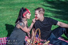 (incogneato.imagery) Tags: retro polka dot tattoo engagement announcement rocky gap state park couple portrait photo shoot grass nature outdoor picnic strawberry food bread coca cola bottle tattooed woman piercing gauge fruit allegany county md western maryland cumberland wedding marriage fiancée affianced bride be incogneato imagery incogneatoimagery teamnikon couplesession couplephotoshoot coupleportrait engagementannouncement engagementphotography westernmarylandphotographer westernmaryland alleganycounty cumberlandmd smile grin expressive eat happy love