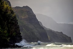Na'Pali coast - Kauai, HI - 10-16-17  01 (Tucapel) Tags: napali coast kee beach kauai hawaii surf ocean
