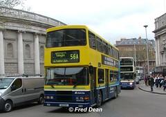 Dublin Bus RA287 (96D287). (Fred Dean Jnr) Tags: april2005 dublin dublinbus busathacliath dublinbusyellowbluelivery volvo olympian alexander r collegegreendublin dublinbusroute56a ra287 96d287