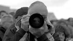 André (Laurent Quérité) Tags: canonfrance canoneos7d canonef100400mmf4556lisusm portrait noirblanc blackwhite homme man meetingaérien airshow ba113 robinson saintdizier france