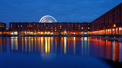 Albert Dock, Liverpool (nickcoates74) Tags: 1650mm a6300 bluehour epz1650mmf3556oss ilce6300 liverpool merseyside night sel1650 sony albertdock uk explored explore