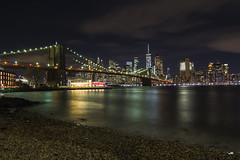 Puente de Brooklyn (Juanjo RS) Tags: newyork brooklyn bridge nikon d7100 night urban amateur