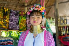 Women of Karen Long Neck Village (sydbad) Tags: women karen long neck village sony sonya7 ilce7mk2 thailand chiangmai zeiss sel55f18z portrait people