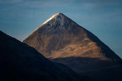 Pyramids, Scotland (reinaroundtheglobe) Tags: scotland landscape mountain mountains sunlight shadows lightandshadows bluesky nopeople
