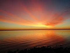 121118am (sunlight_hunt) Tags: sunlight sunrisesunset sunriseoverwater matagordabay texasgulfcoast texas texassunrisesunset texassky palacios