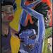 """The Groove"" by Cassandra C, acrylic, $120.00"