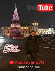 Merry Christmas (Alexanyan) Tags: christmas yerevan republic square tree xmas youtube channel alexanyan alexanyanevn night light armenia
