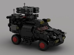 M2 Corporate SUVs Upgraded (demitriusgaouette9991) Tags: suv lego military army ldd armored powerful future whitebackground vehicle missile turret